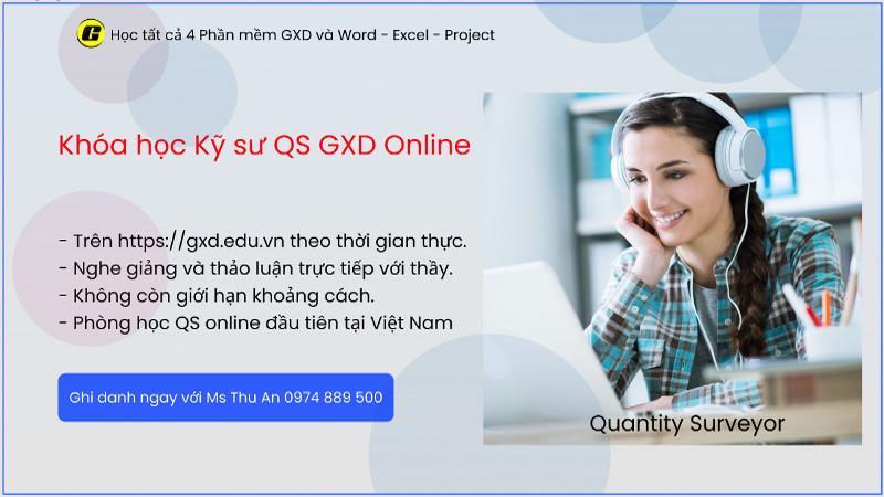 Lớp Kỹ sư QS Quantity Surveying GXD chia sẻ với bạn những điều rất quý giá